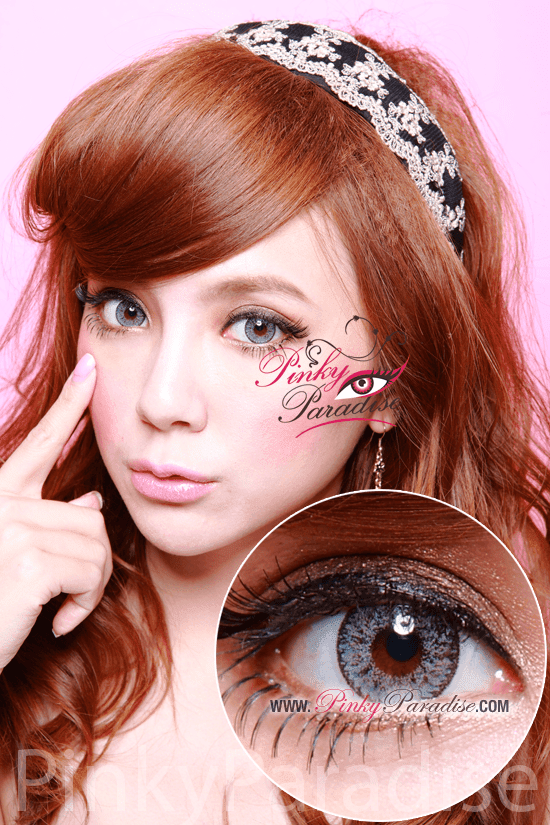 Geo Nudy Grey Circel Lenses (Colored Contacts)