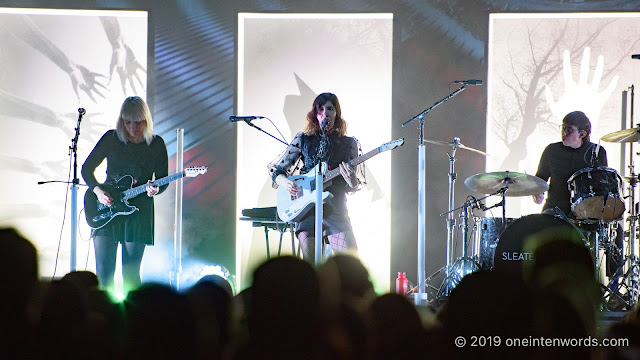 Sleater-Kinney at Rebel on November 3, 2019 Photo by John Ordean at One In Ten Words oneintenwords.com toronto indie alternative live music blog concert photography pictures photos nikon d750 camera yyz photographer