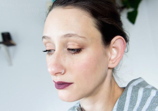 jeffree star liquid lipstick androgyny mauve makeup look