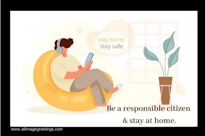 staying home staying safe  massage