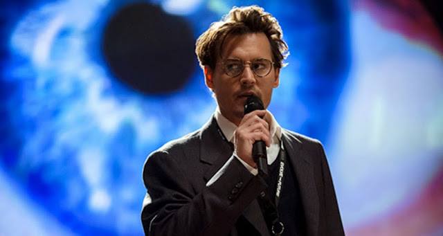 Johnny Depp în Transcendence