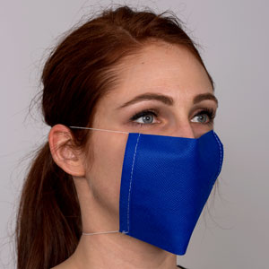 The non-pleated healthcare mask is not effective at all