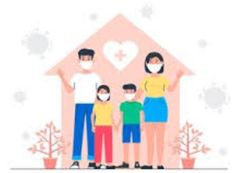 Lima Langkah untuk Cegah Penularan Covid-19 Klaster Keluarga