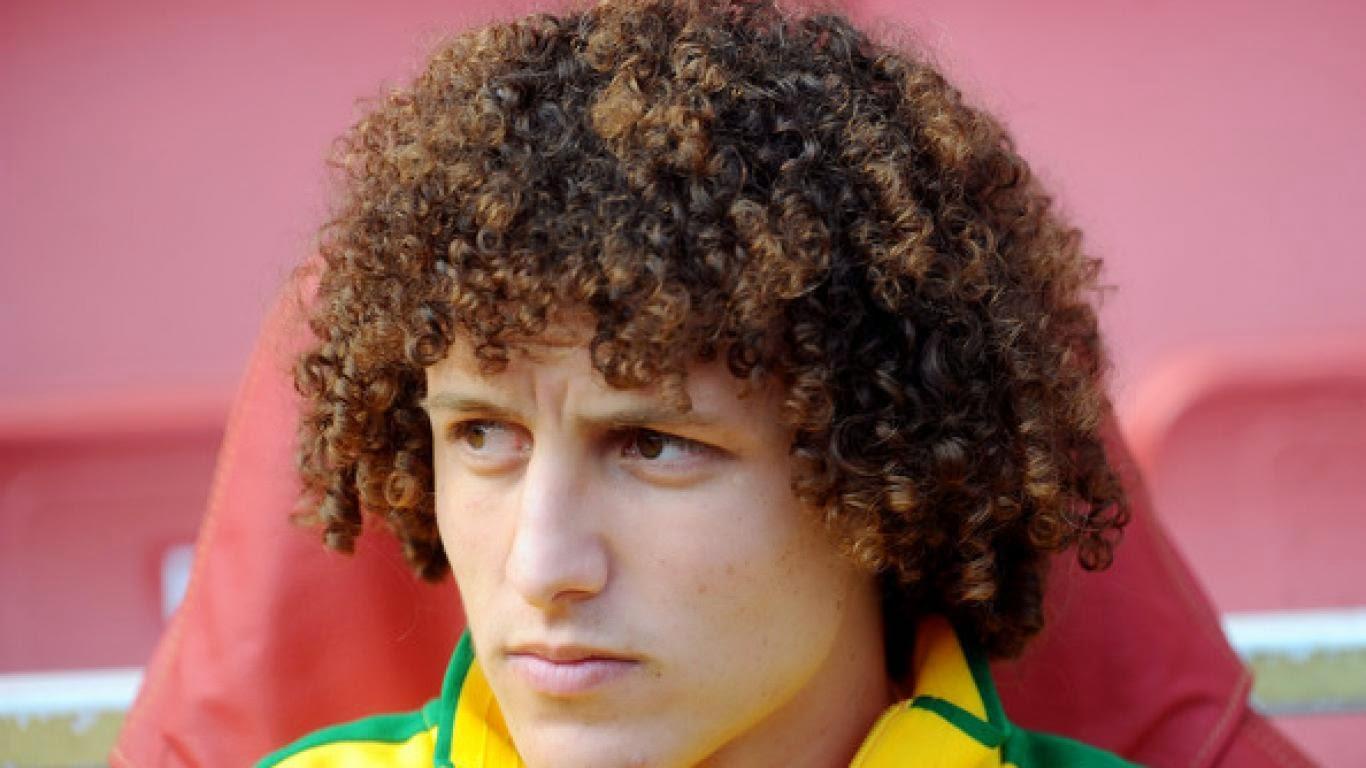ALL SPORTS PLAYERS: David Luiz Hairstyle 2014 Fifa World Cup