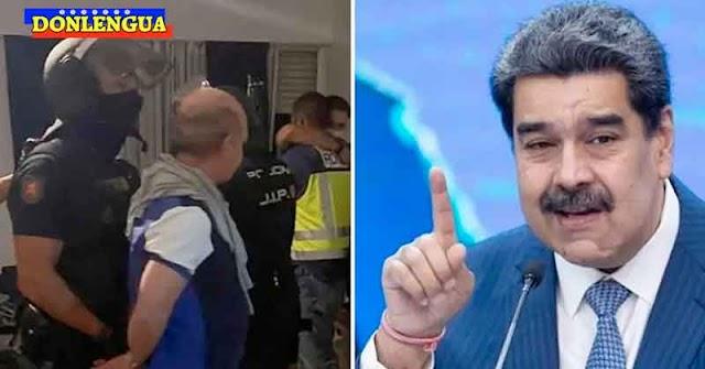 Lo que dijo Nicolás Maduro sobre la detención del Pollo Carvajal en España
