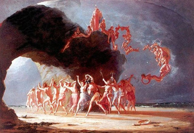 Come Unto These Yellow Sands - Richard Dadd