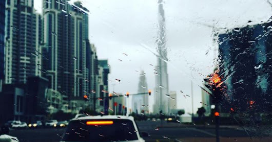 RAIN DUBAI AND FRESH WINDS