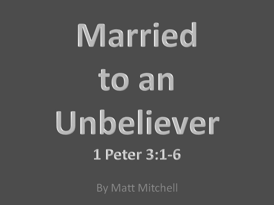 Breaking up with an unbeliever