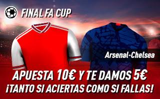 sportium Promo Final FA Cup Arsenal vs Chelsea 1 agosto 2020