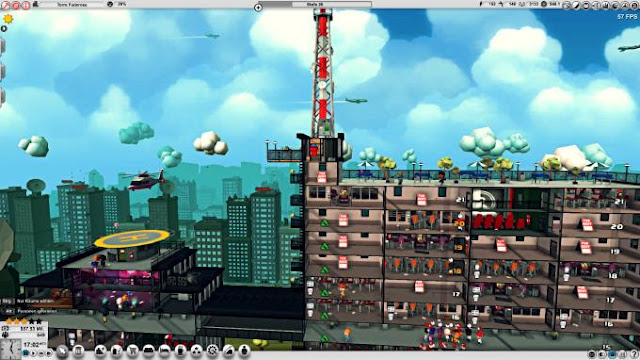 Mad Tower Tycoon is almost the only skyscraper building simulator of its kind. Here you will need to build a skyscraper and do everything in order to earn as much money on it and its premises.