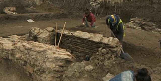 Eastern necropolis of ancient Serdica found at Sofia construction site