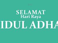Ucapan Selamat Hari Idul Adha 10 Dzulhijah 2018/2019