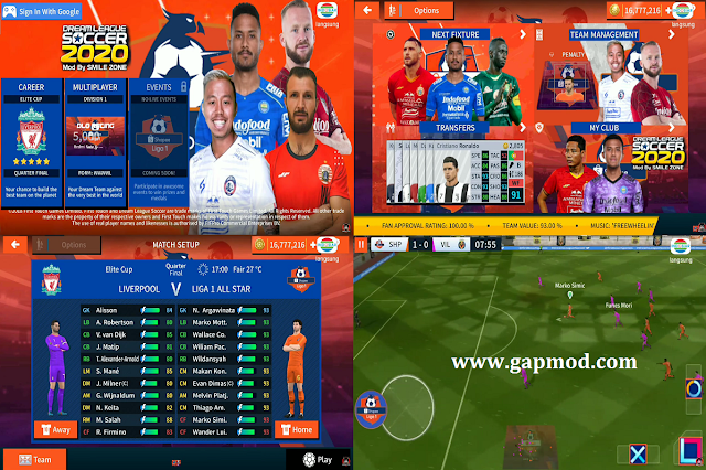 Download DLS 2020 Mod Shopee Liga 1 Best Player Update 2020