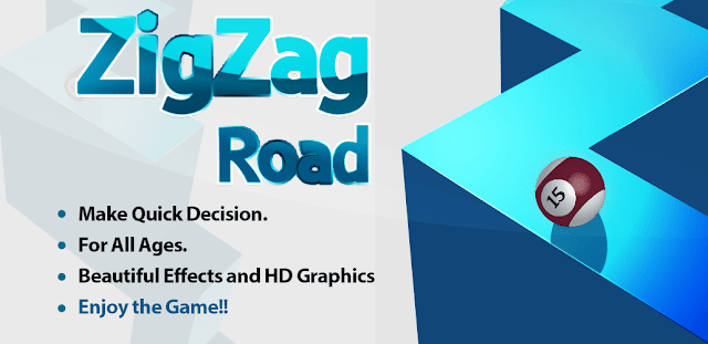 ZigZag road android arcade game preview