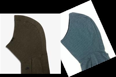 Hood detail on my Nike hoodie copy