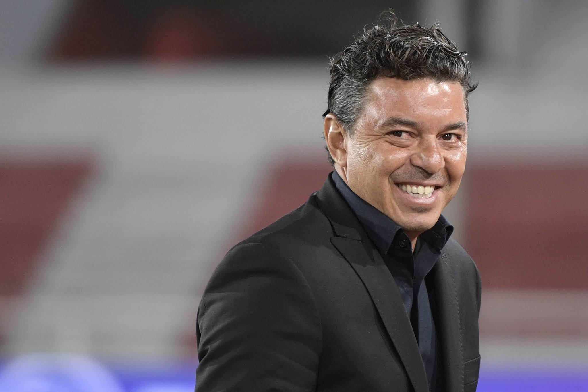 Marcelo Gallardo llegó a siete semifinales en los ocho torneos continentales que dirigió a River
