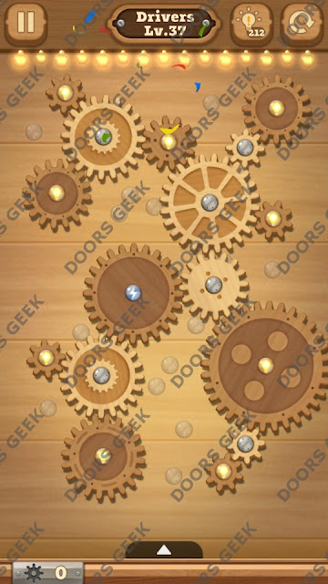 Fix it: Gear Puzzle [Drivers] Level 37 Solution, Cheats, Walkthrough for Android, iPhone, iPad and iPod