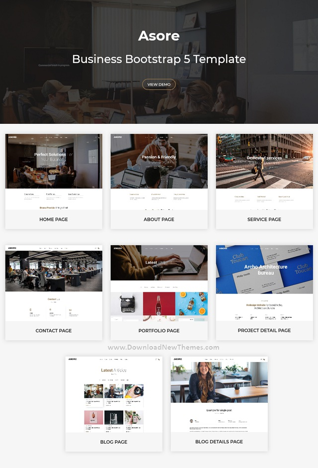 Business Bootstrap 5 Template