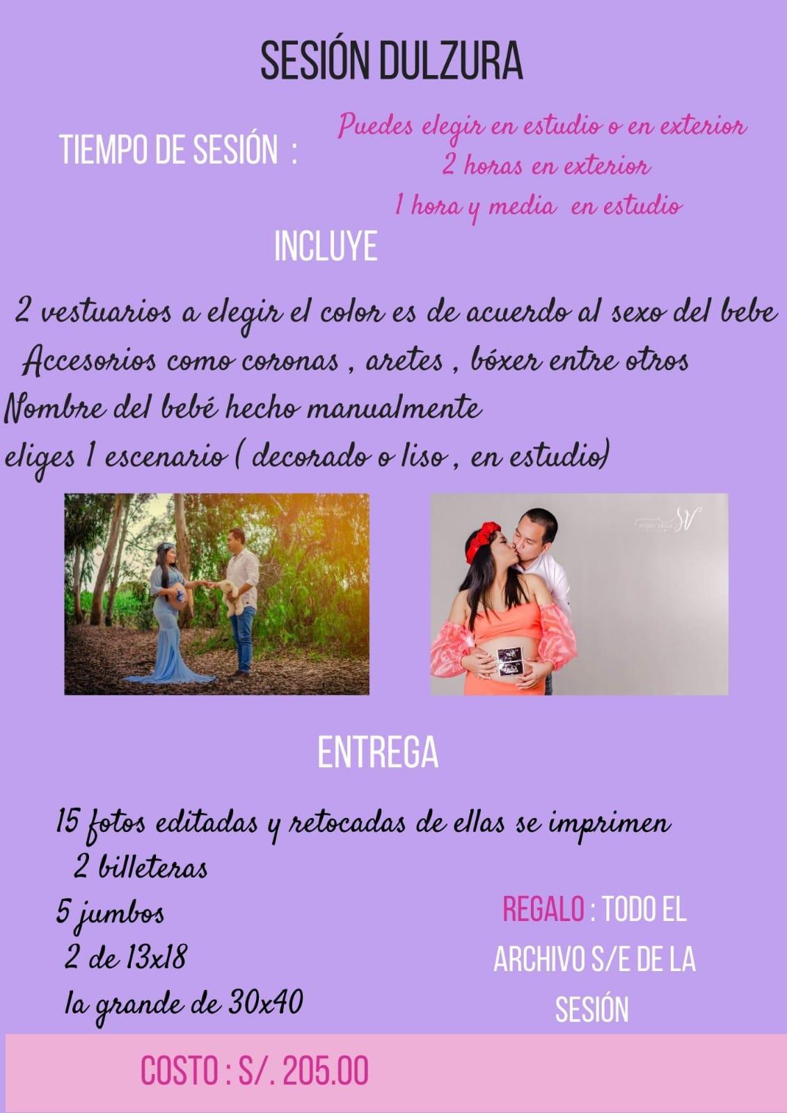 Fotografía para embarazadas en Trujillo - Perú, Sesiones, filmaciones y retratos