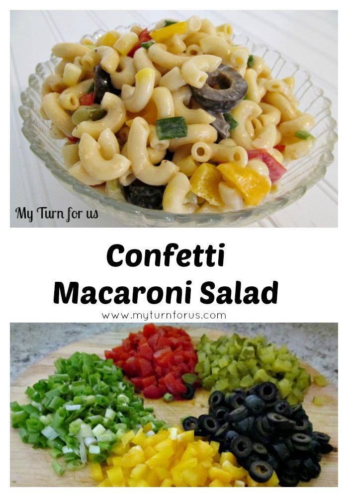 how to make macaroni pasta salad