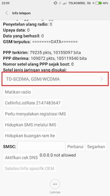 Cara Ubah Jaringan Android ke 3G atau 4G saja