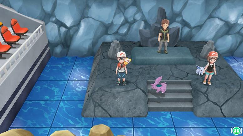 Jogando Coop - Pokémon PLGPE