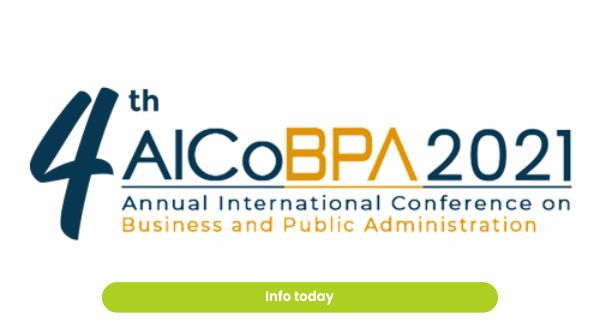 4th Annual International Conference on Business and Public Administration (AICoBPA) 2021