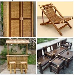 kelebihan dan kekurangan bambu untuk furniture