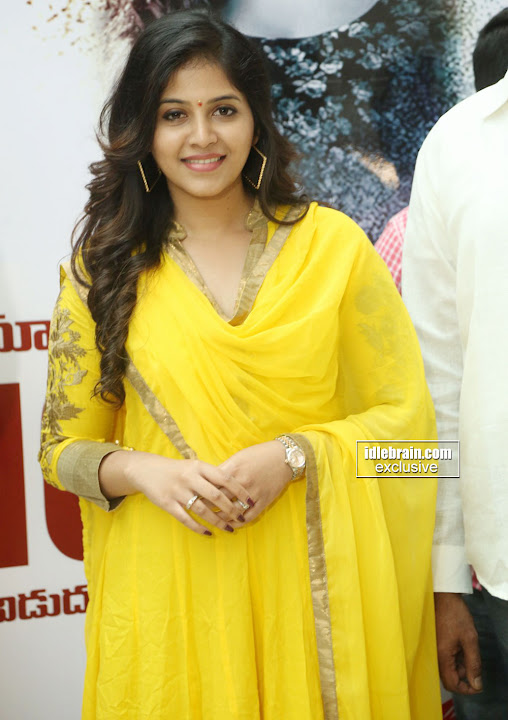 Anjali at Prasads Imax for Chitrangada movie promotion