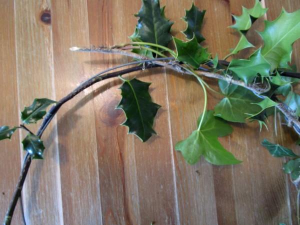 Make a Xmas Wreath - Our Handmade Home