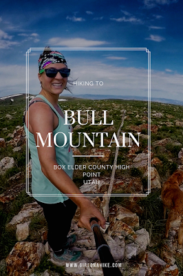 Hiking to Bull Mountain via Bull Flat, Box Elder County High Point