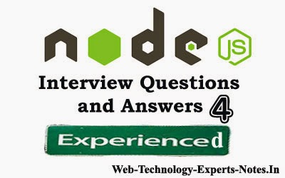 Node Js Interview Questions and Answers for Experienced