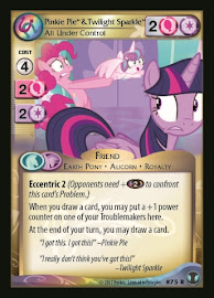 My Little Pony Pinkie Pie & Twilight Sparkle, All Under Control Defenders of Equestria CCG Card