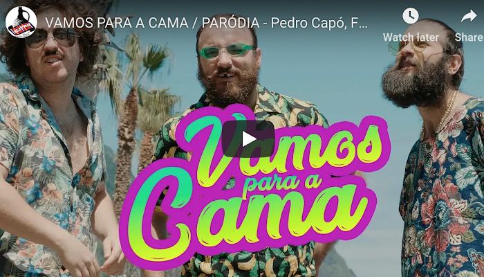 VAMOS PARA A CAMA / PARÓDIA - Pedro Capó, Farruko - Calma