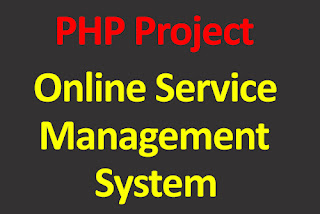 Online Service Management System PHP Project