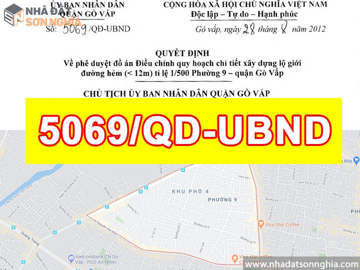 Quyết định số 5069/QĐ-UBND