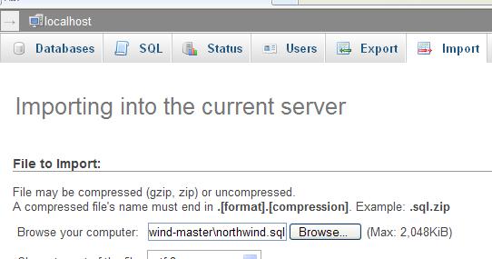 Basic Steps: How To Import Northwind Data To MySQL