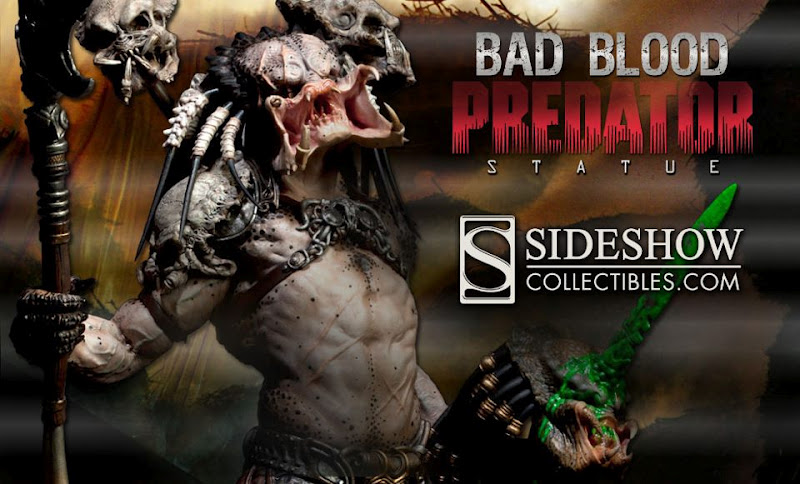 That Figures: NEWS: Sideshow Unveils ''Bad Blood'' Predator