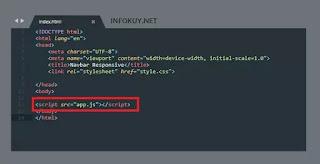 Koneksikan File Javascript
