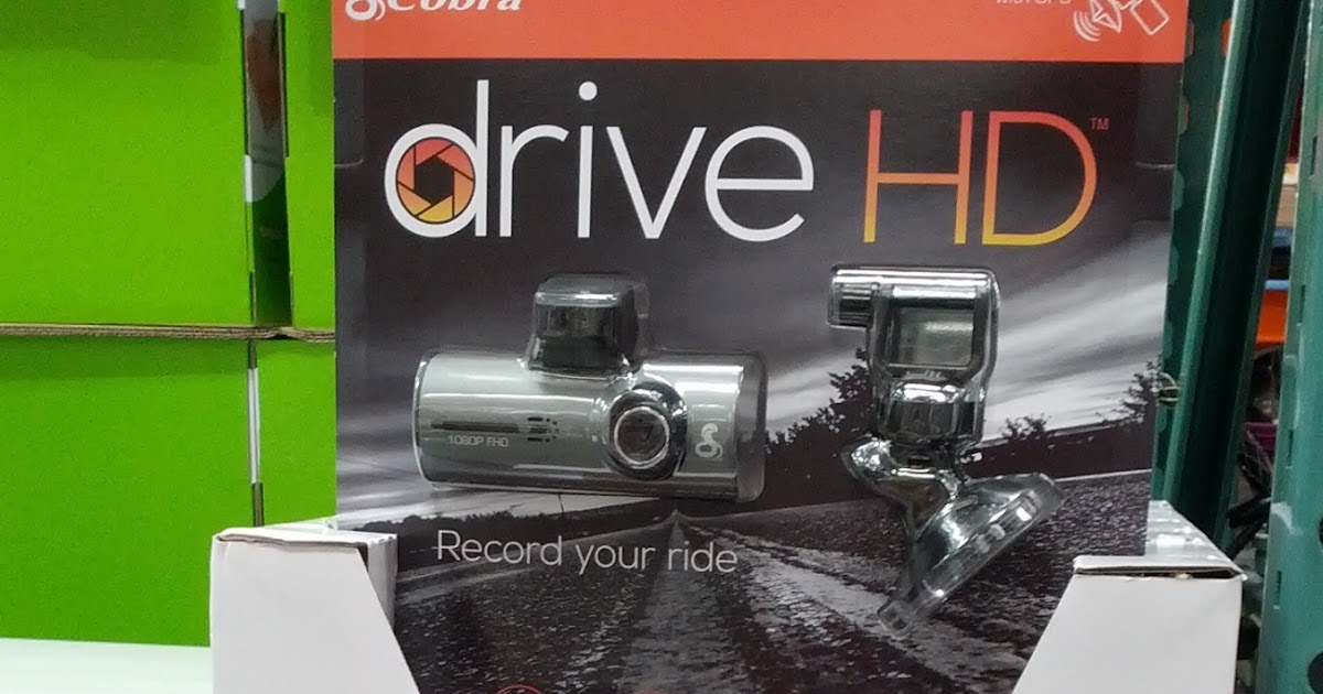 Gopro Dash Cam >> Cobra CDR 840 Drive HD Dash Camera | Costco Weekender
