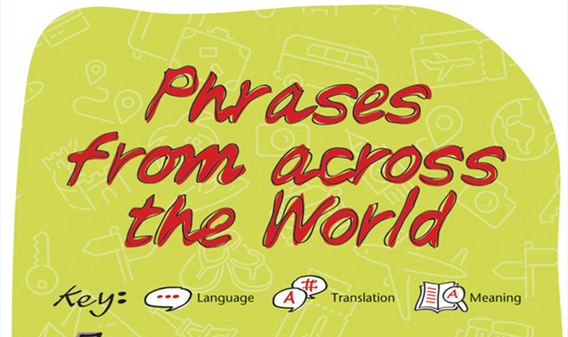 Phrases from across the world