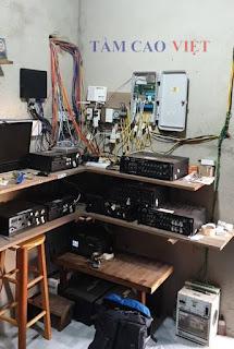 Phòng kỹ thuật trong nhà nuôi yến