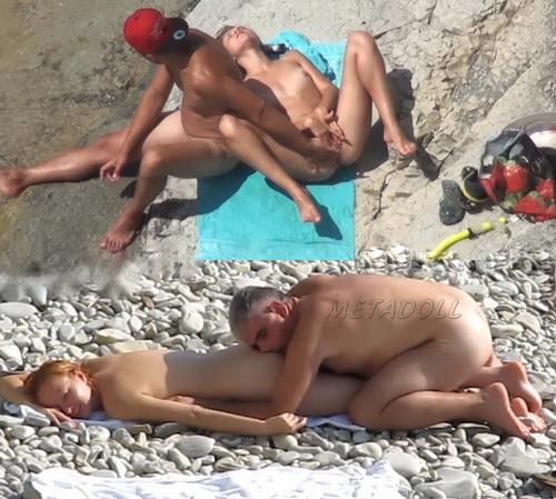 voyeur beach sex tube
