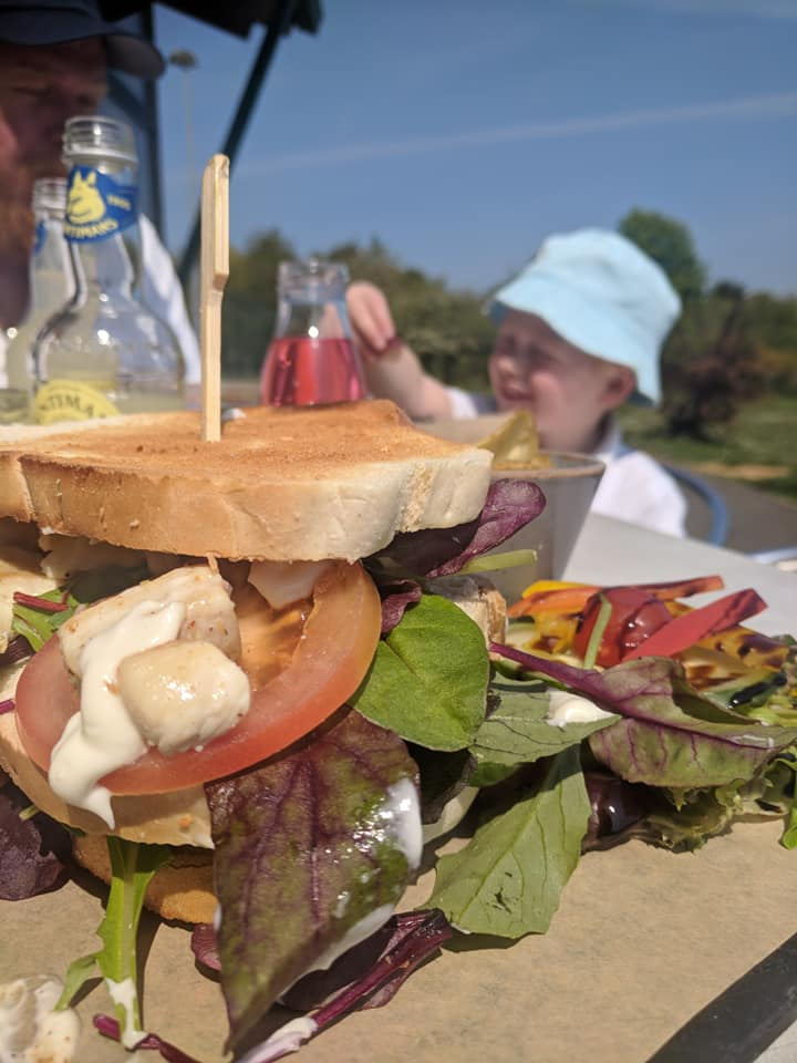 Nelson's at the Park, Swarland - Review  - chicken club sandwich