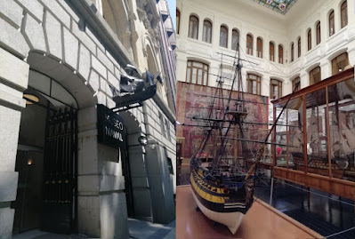 Visita al Museo Naval de Madrid