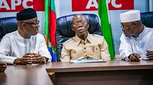Oshiomhole In Trouble? Angry APC Governors Heading To Abuja To Sack Him