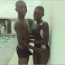 Between This Young Boy And His Girlfriend In A Swimming Pool
