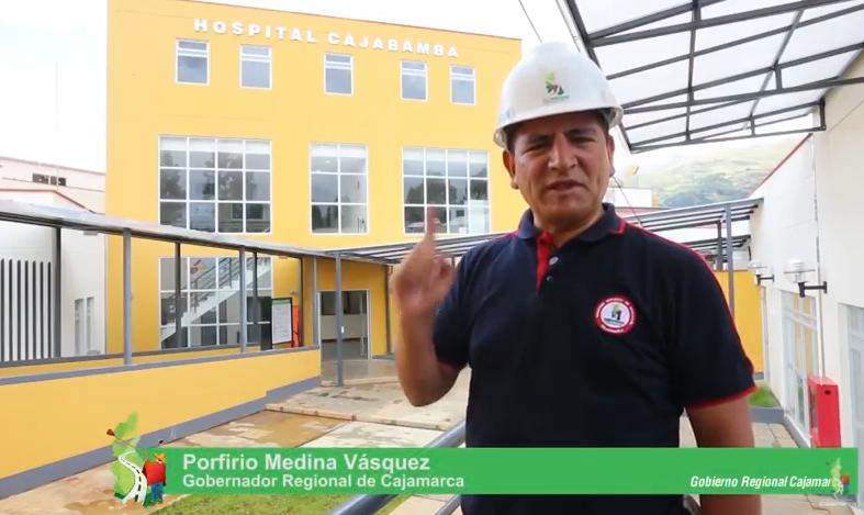 Hospital de Cajabamba en etapa  de recepción