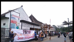 Warga Desa Margourip Kabupaten Kediri Tolak Tambang Pasir Liar di Daerahnya