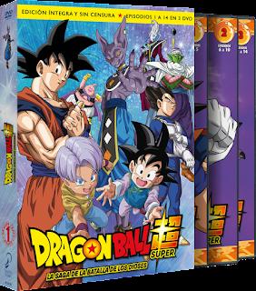 DRAGON BALL SUPER. BOX 1. La saga de la batalla de los Dioses Ep. 1 a 14